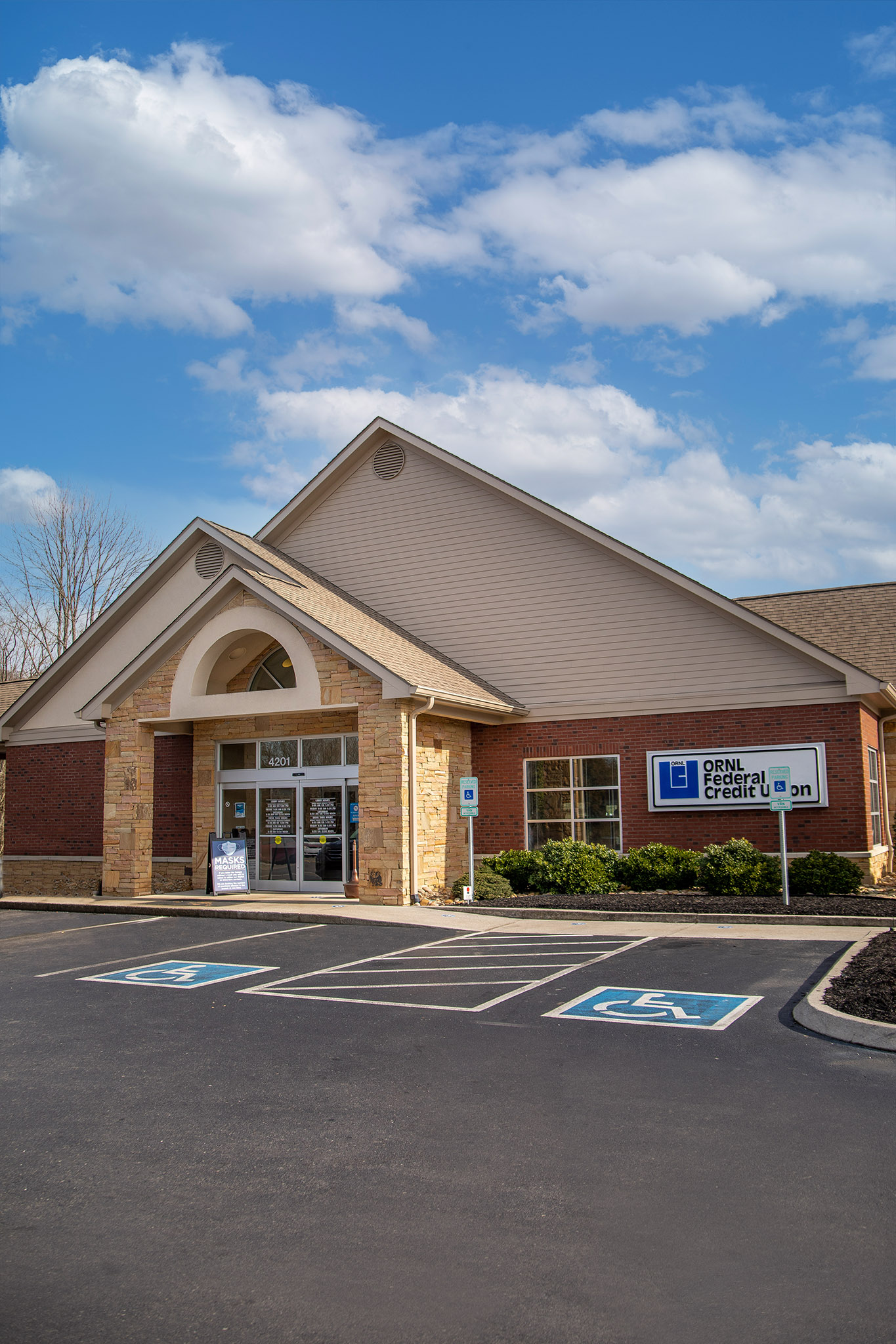 Exterior building of Madisonville branch